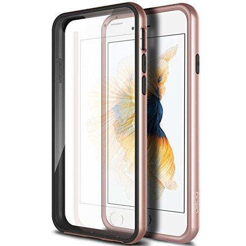 Obliq iPhone 6S/6Fall, [MCB One] [Rose Gold] dünn Armor Scratch Resist Metallic-Finish Dual Layered Hard Schutz Hybrid Bumper Slim Fit Hohe Qualität Clear Case-für Apple iPhone 6S/6