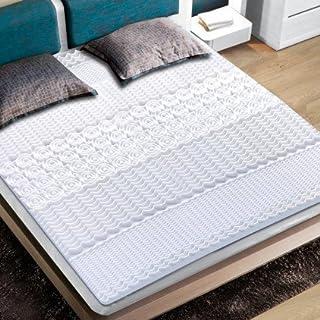 OSE Surmatelas à mémoire de Forme 140 x 190 cm - Blanc - 140 x 190 cm