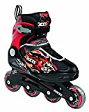 Roces Compy 5.0 Boy Children's Inline Skates black/red Size:38/41
