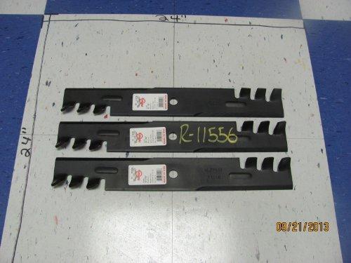 Rotary 11556-lot of 3-usa Blades, Dixie Chopper 30227-52x,hustler  785436-mulcher