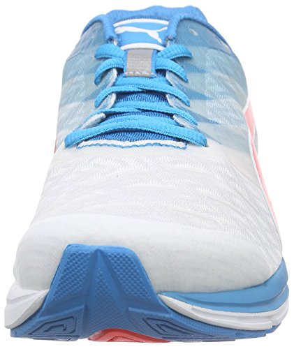 Puma Speed 300 Ignite, Chaussures de course homme Multicolore (White/AtomicBleu/Red Blast)