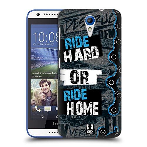Head Case Designs Ride Hard Or Ride Home Live BMX Ruckseite Hülle für HTC Desire 620/620 Dual SIM