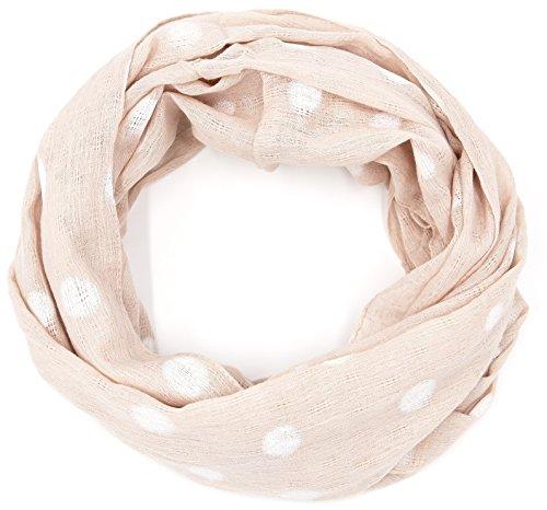 süßer Damen Loop Schal Schlauchschal Punkte Dots Tupfen (8449) (Girl Pin Ideen Outfit Up)
