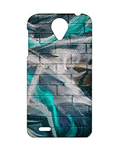 Mobifry Back case cover for Lenovo S820 Mobile (Printed design)