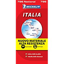 Carte NATIONAL Italie Indchirable