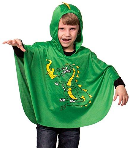 Drachen Kostüm Umhang - Folat 63260 STD Umhang Cape Poncho