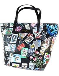Bag schöpfer 'Christian Lacroix'schwarz multicolor (karten)- 46x35x16 cm.