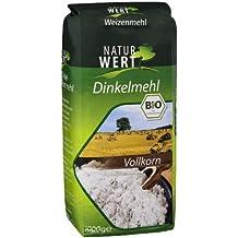 Naturwert Bio Dinkel Vollkornmehl, 1 kg