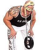 C.P. Sports - Supporto per testa e collo per sollevamento pesi/allenamento, imbottitura in pelle, (Natura), Taglia unica