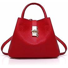 DIMAOL Bolsas de las mujeres de la PU bolsas de bolsillos para al aire libre,