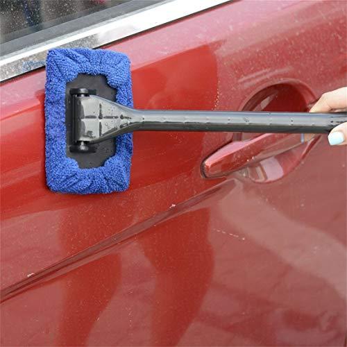 Facilit-di-installazione-portatile-di-plastica-Uso-Multiplo-ergonomico-Maniglia-in-microfibra-Bonnet-parabrezza-Facile-Cleaner-per-la-casa-dellautomobile-di-vetro