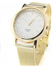 Culater® Nuevo CláSico De Oro Para Mujer Reloj De Pulsera De Acero Inoxidable ...