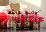 #4: Best Gift for your Loved Ones - Best Filling Pearls Designs Little 5 pc Message Bottles 4cm Tall - Birthday Anniversary Couple Gift Specially Valentines Day Gift for Girlfriend / Boyfriend With WOODEN BOX {5 pc Set} by McClub
