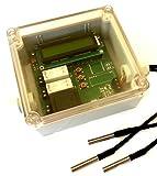 Temperaturdifferenzsteuerung für Solar / Heizung IP65 Gehäuse / mit LCD / programmierbare Steuerung