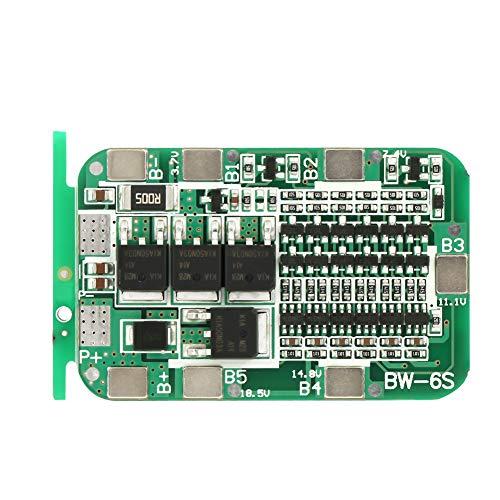 Especificación: Corriente máxima de descarga: 15A Corriente de descarga instantánea: 25A Voltaje de carga: 25.5V Corriente de carga: 15A (Máx.) Voltaje de detección de sobrecarga: 4.28 ± 0.05V Tensión de detección de sobrecarga: 2.55 ± 0.08V Volt...