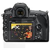 atFoliX Schutzfolie für Nikon D850 Displayschutzfolie - 3er Set FX-Antireflex blendfreie Folie