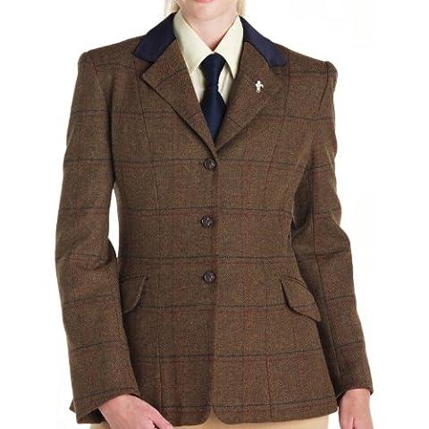 Caldene - Chaqueta para mujer, tamaño 38'', color marrón