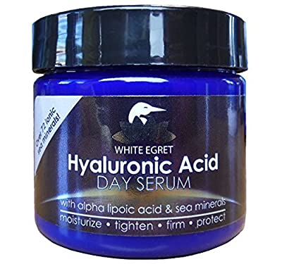 White Egret Candles, Hyaluronic Acid Day Serum, 2 fl oz (59 ml) from White Egret Personal Care