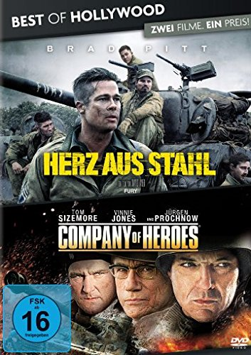 Best of Hollywood - 2 Movie Collector's Pack: Herz aus Stahl / Company of Heroes [2 DVDs] (Fury-film Dvd 2014)