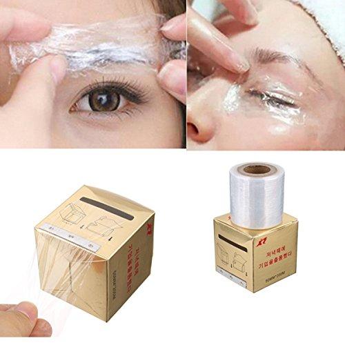 Bluelover Permanent Sourcil Doublure Maquillage Wrap Plastique Préservatif Film Accessoires Tatouage Fournitures