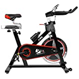 51F QwEm3XL. SL160  - BEST BUY #1 JLL® IC300 Indoor Exercise Bike 2016, Cardio Workout, 18KG Flywheel Smooth Cycling, Adjustable Handlebars & Seat, Heart Rate Sensors & On Board Computer reads Speed, Distance, Time, Calories + Pulse (Black) Reviews and price compare uk