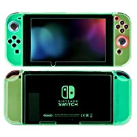 Nintendo Switch Case- Uiter Yellow Hard PC Protective Cover for Nintendo Switch (Snug Fit / Ultra-thin/ Anti-Scratch)