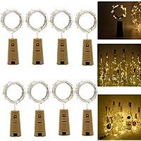 Luces Led de Vino Botella,Cadenas Luces para Botella de Bricolaje,Fiesta,Navidad