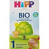 Infant Hipp biologique Formule 1 à partir de la naissance, 8 Pack (8 x 600g)
