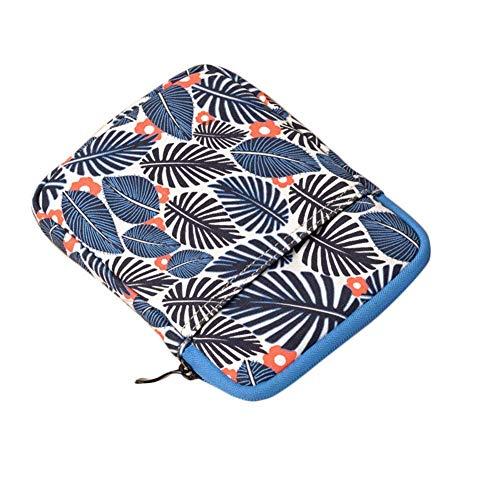 Kentop eBook Reader Sleeve Hülle Tragbare Schutzhülle Tasche aus Leinwand mit Reißverschluss für Amazon Kindle Paperwhite/Voyage/6 inch Kindle Oasis