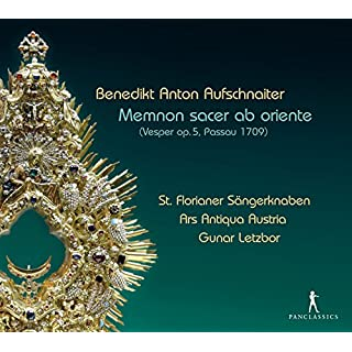 Aufschnaiter: Memnon Sacer Ab Oriente (Vesper Op.5,Passau 1709