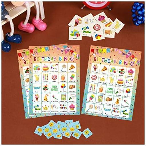 Geburtstags-Bingo-Spiel-24-Spieler-fr-Kinder-Party-Game-Supplies