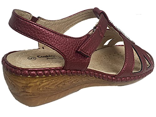 Cushion Walk ,  Mädchen Damen Sling Backs Wein