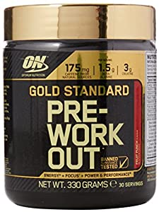 Optimum Nutrition Gold Standard Pre-Workout Supplement, 330 g - Fruit Punch