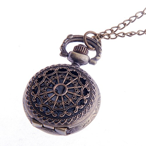 ladies-pendant-pocket-watch-quartz-with-chain-filigree-pattern-small-face-white-dial-vintage-necklac