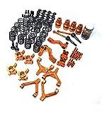 ONEHOBBY SPT2-S04OR RWD Drift Conversion Kit für HPI Sprint 2 in Orange