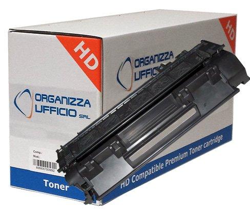 CE505X Toner per HP Compatibili ALTA CAPACITA', HP LASERJET P2055, P2050, P2055, P2055D, P2055DN, P2055dn, CANON LBP 6300, LBP 6500, Stampa fino a 6.500 pagine al 5% di copertura. HP05X