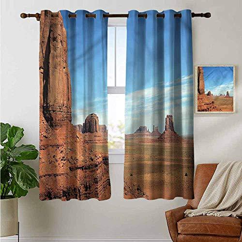 petpany Dekorative Vorhänge für Wohnzimmer Amerika, Gott segne USA Flagge, Verdunkelungsvorhänge für Schlafzimmer, Polyester, Color14, 42'x45'(W106cmxL114cm)