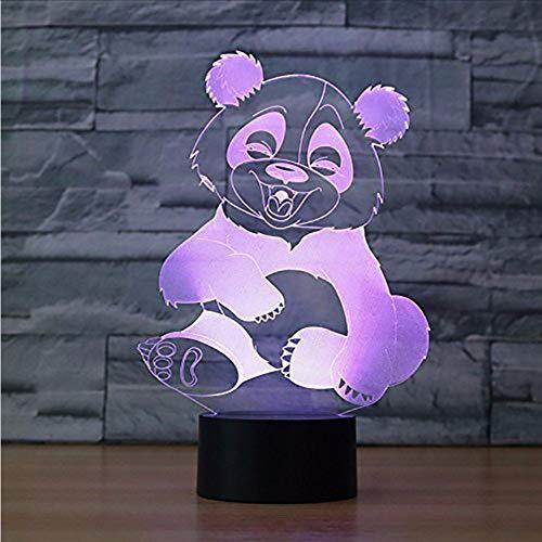 Dwthh Kinder Beleuchtung 7 Farbwechsel Schöne Koalabär Modellierung 3D Led Tier Nachtlichter Kind Schlafzimmer Dekor Geschenk Schreibtisch Leuchtend