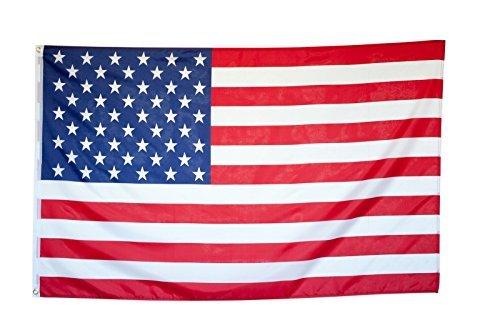 Flaggenking, USA - Flagge/Fahne - wetterfest, weiß, 150 x 90 x 1 cm, 16894