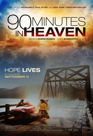 90 Minutes IN Heaven - Hayden Christensen - U.S Movie Wall Poster Print - 43cm x 61cm / 17 Inches x 24 Inches A2