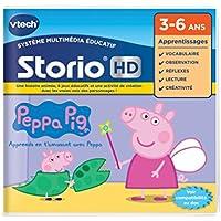 VTech–273405–Juego HD Storio–Peppa Pig