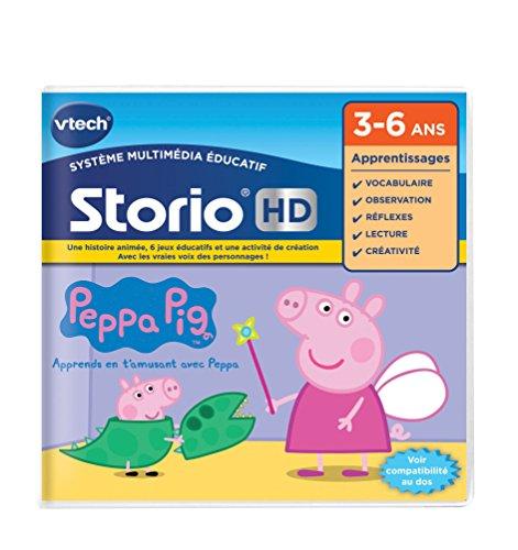 VTech-273405-Spiel HD Storio-Peppa Pig (ev. Nicht in Deutscher Sprache) (Peppa Pig Kostüm Spiele)