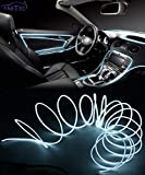 FABTEC EL Wire Car Interior Light Ambient Neon Light for All Cars