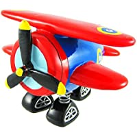 Preisvergleich für Red & Blue Bi-Plane Bobble Piggy Bank Biplane by Private Label by Zeckos