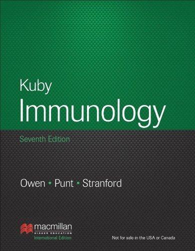 Kuby Immunology: International Edition by Owen, Judy (2013) Paperback
