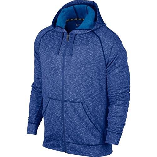 Nike Herren Dri-Fit® French Terry Full Zip Hoody Game royal blau groß