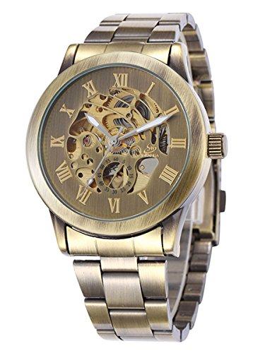 alienwork-retro-orologio-automatico-scheletro-meccanico-vintage-metallo-bronzo-marrone-bronzo-marron