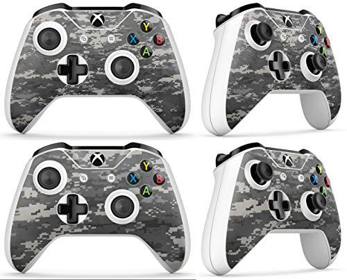 Gizmoz n Gadgetz GNG Adesivi in Vinile per Xbox One S con Il Logo di Digital Camo per 2X Controllers