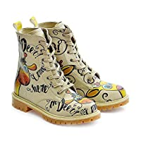 Goby Confused Giraffe Long Boots TMB1029
