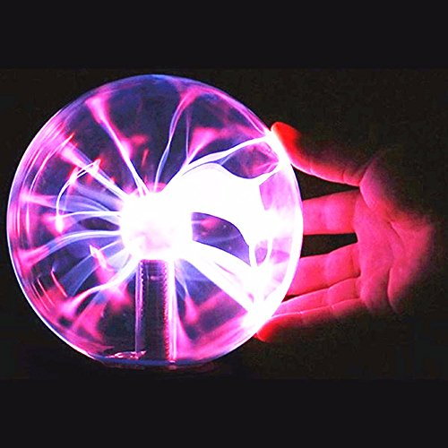 SOLMORE Lampara de plasmai8cmj Plasma Light Ball magica flashes bola d